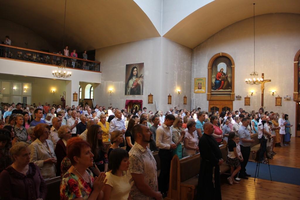 Реликвии блаженной Марты Вецкой в Запорожье 31 мая 2015