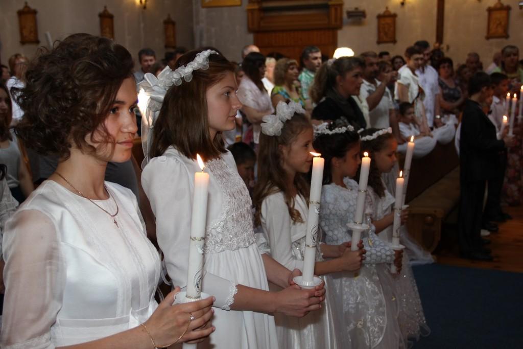 Торжество Пресвятых Тела и Крови Христовых 07 июня 2015 года