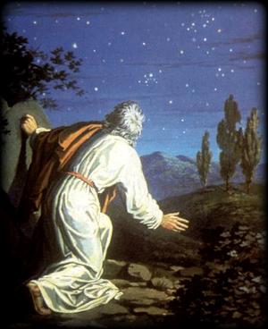 Авраам и жертвенник