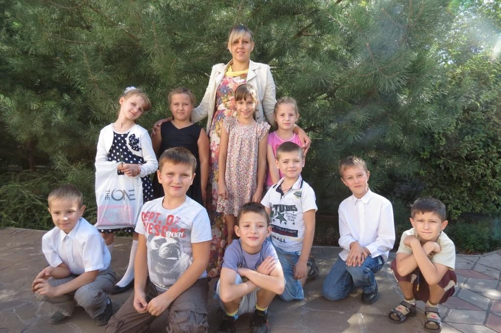 Группа перед Первым Причастием (младшая)