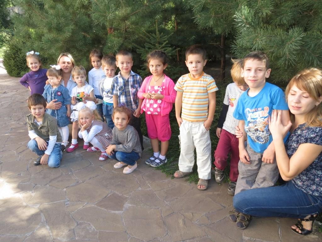 Група наймолодших діток