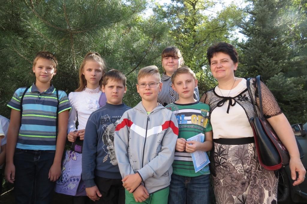 Группа перед Первым Причастием (старшая)