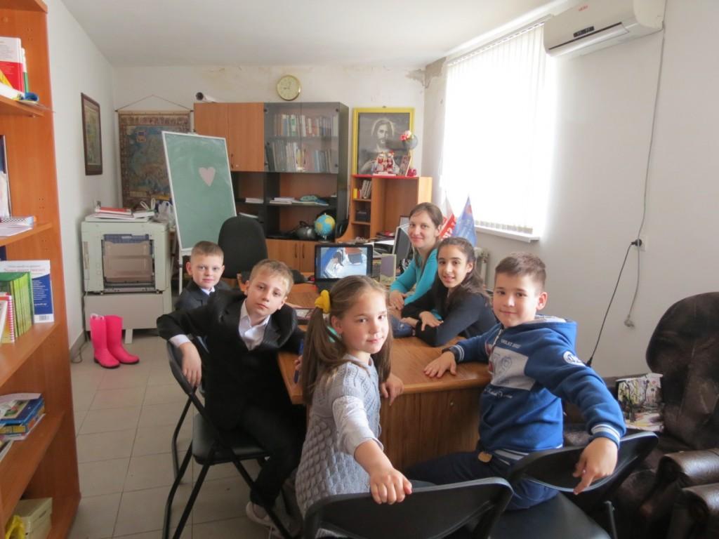 Младшая группа после Причастия