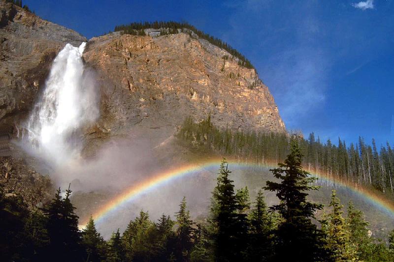 Радуга водопад
