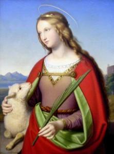 Святая Агнесса
