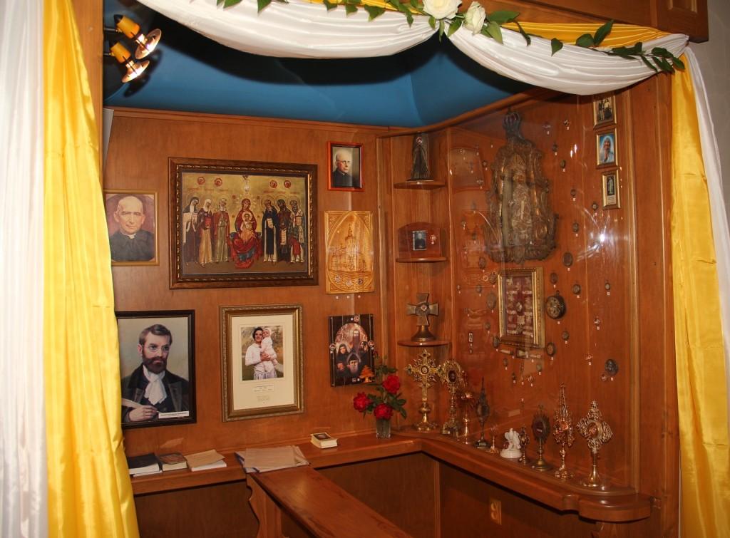 Каплиця Всіх Святих в Санктуарії Бога Отця Милосердного