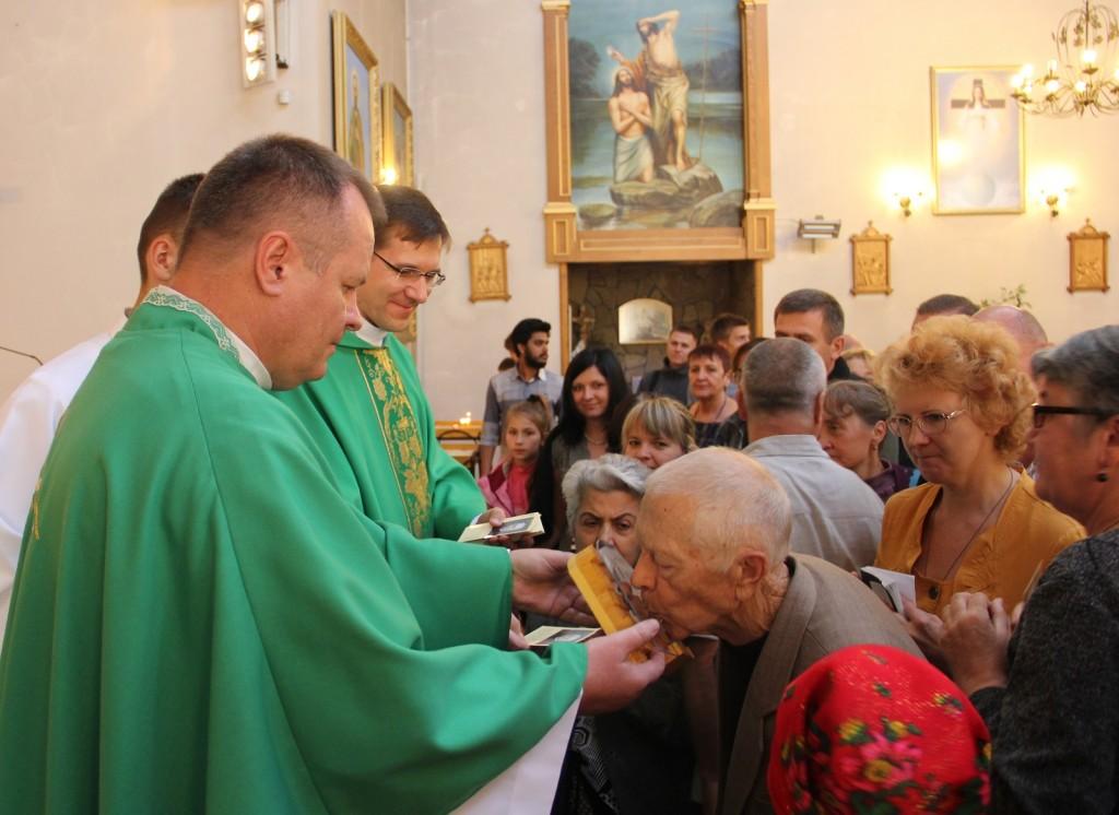Ушанування реліквій блаженного Ладислава Фіндиша