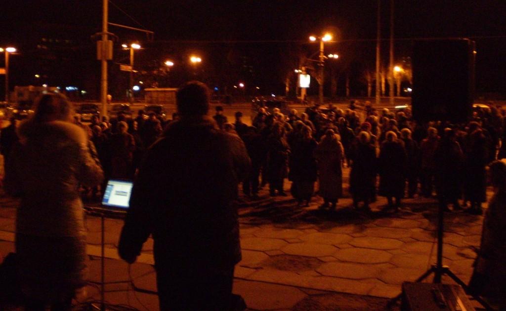 Sto modlitw za pokój na Ukrainie