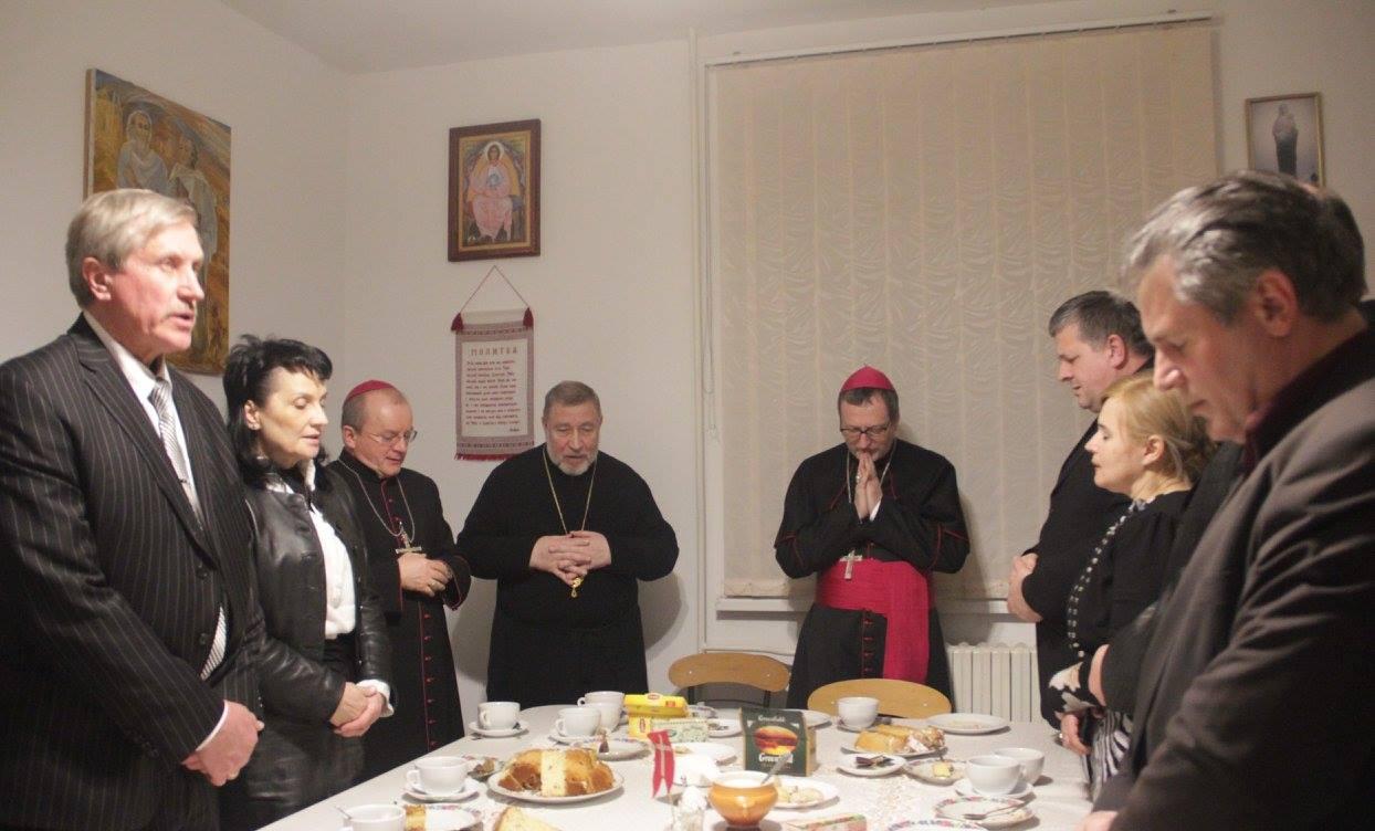 Встреча Апостольского Нунция с представителями Духовного Совета Христанских Церквей Запорожья