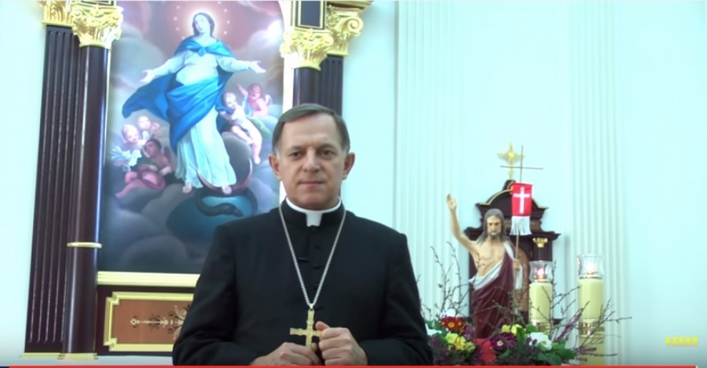 Святкові привітання Митрополита Львівського Архієпископа Мечислава Мокшицького з нагоди Урочистості Воскресіння Христового