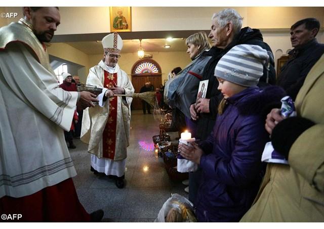 Нунцій в Україні про потреби постраждалих внаслідок бойових дій на сході країни