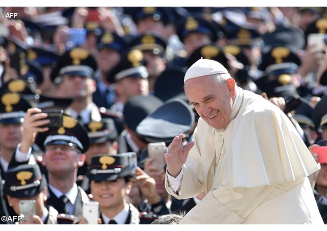 Папа: Нехай же любов переможе ненависть, а мир – війну