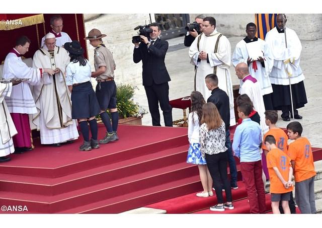 Ставайте чемпіонами любові. Проповідь Папи Франциска з нагоди Ювілею підлітків