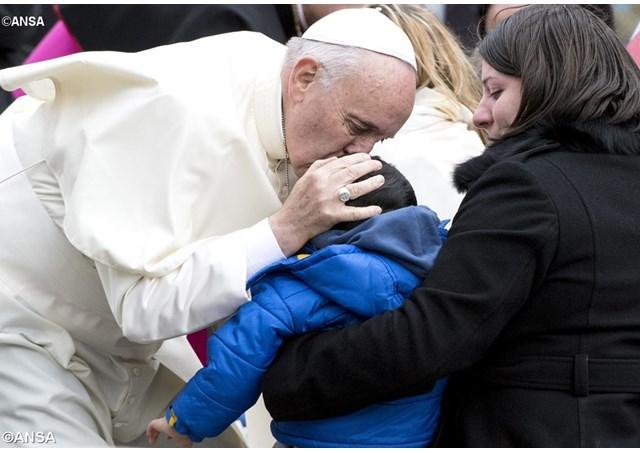 Папа: Ігнорування людським стражданням є ігноруванням самого Бога
