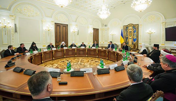 Релігійні лідери України написали президенту листа