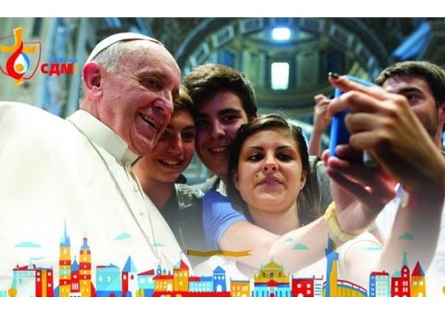 Папа до молоді: нехай СДМ стане мозаїкою народів і культур, з'єднаних милосердям