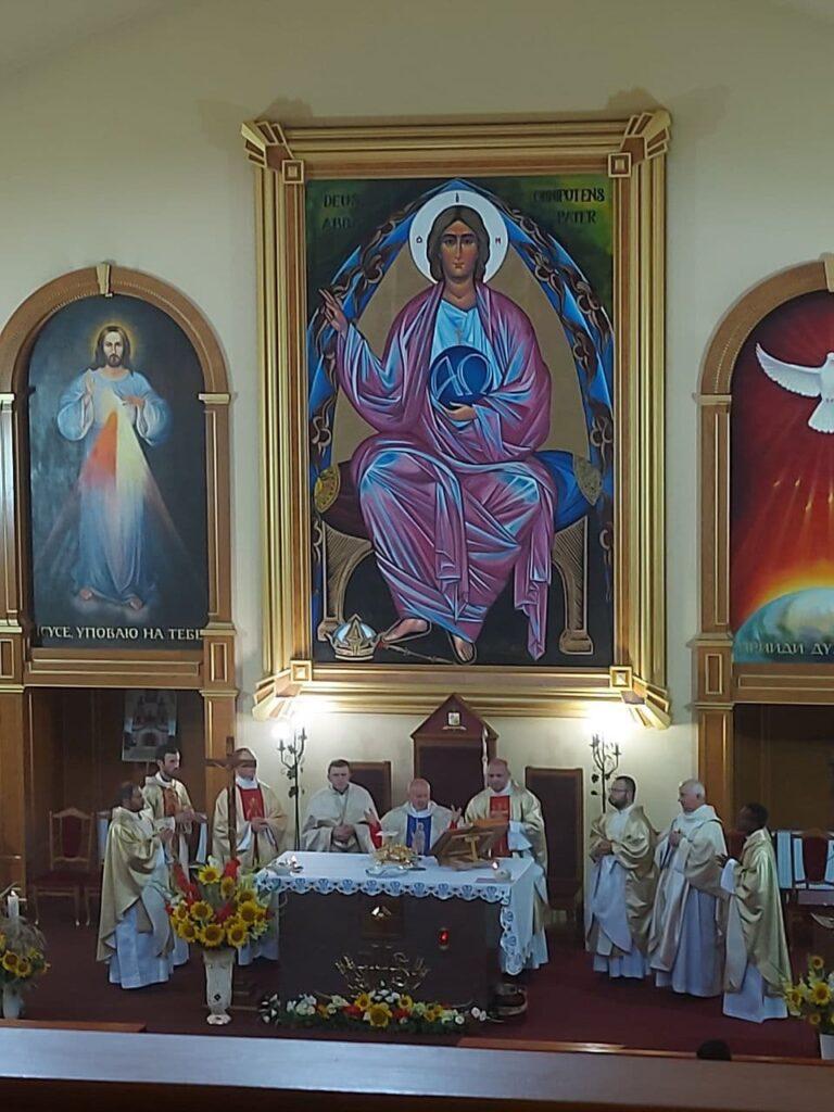 Вітаємо в Санктуарії Бога Отця Милосердного!