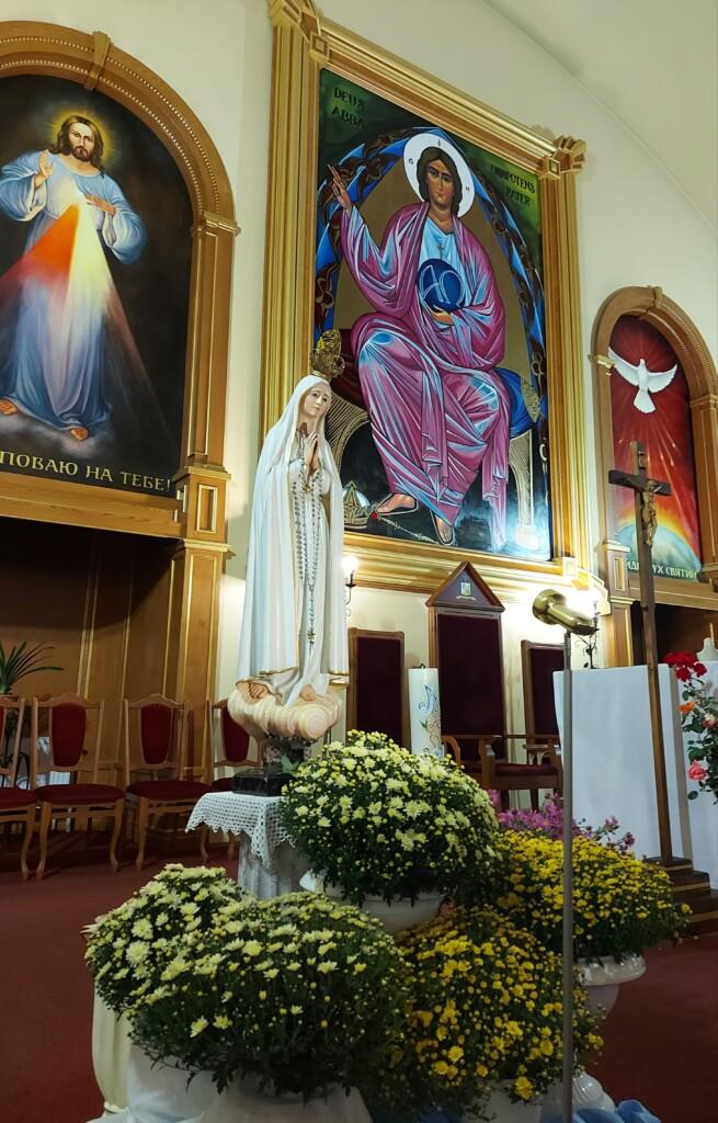 10 річниця проголошення Конкафедрального Собору Бога Отця Милосердного Санктуарієм